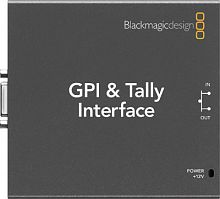 Интерфейс Blackmagic GPI and Tally Interface купить