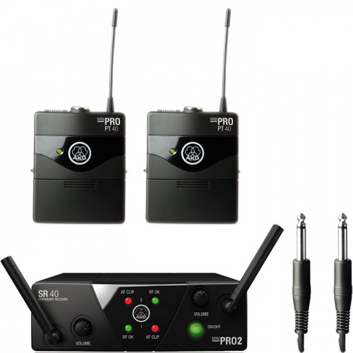 Радиосистема AKG WMS40 Mini2 Instrumental Set BD US45A/C купить