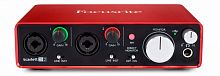 Аудиоинтерфейс Focusrite Scarlett 2i2 2nd Gen купить